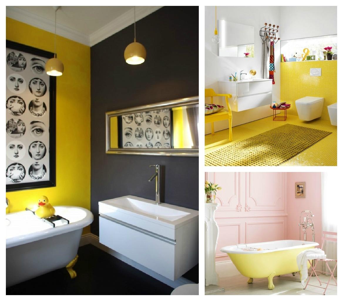sala com tons de amarelo na décor! O amarelo é ligado a nobreza e  #B0901B 1168x1024 Banheiro Amarelo E Cinza